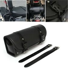 Motorcycle Saddlebag Storage Tool Pouch Roll Barrel Bag For Harley Davidson