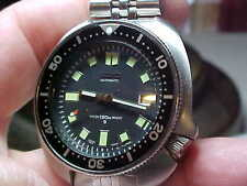 VINTAGE SEIKO DIVERS WATCH 6105-8110 CASE WITH 6118 17J AUTOMATIC MOVEMENT SUPER