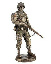 "12.5"" U.S Army Soldier Honor & Courage Statue Sculpture Military Figurine Figure"