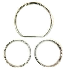 Mercedes C Class W202 S202 Chrome Speedo Instrument Cluster Rings 1993 - 1995