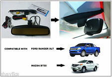 "PX Ford Ranger XLT / Mazda BT50 Rearview Mirror kit - Auto Dimmer Camera 4.3""LCD"