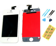 IPhone 4 4G Lcd Display Touch Screen Digitizer Pannello Anteriore Adesivo strumenti BIANCO