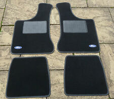 "FORD ANGLIA 105E NEW 4 PART OVERMAT CARPET SET WITH ""FORD"" LOGOS"