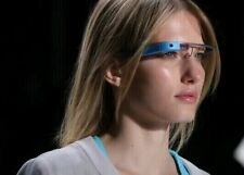 NEW Google Glass V2.0 Explorer Edition Sky Blue Glasses - FREE FRAME OR SHADES