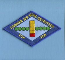 CVW-17 CARRIER AIR WING TOP TEN LANDING US NAVY Squadron Jacket Patch