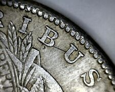 """Error Coin """"Spiked E"""" Hit List 40 1921-s Vam 6A Die Pairing Morgan Silver Dollar"""