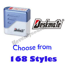 One Deskmate Pre-Inked Self-Inking Rubber Stamp Choose From 168 Styles