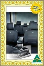 SUPERIOR MITSUBISHI CHALLENGER WATERPROOF NEOPRENE FRONT AND REAR CAR SEAT COVER