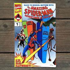 Vintage Original Squirt Soda AMAZING SPIDERMAN MARVEL Comic #1 1991 NOS Unused