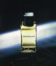 PUBLICITE ADVERTISING 015  1976  CHANEL  eau CRISTALLE