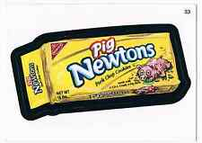 2006 Topps Wacky Packages Series 4 Pig Newtons Trading Card 33 ANS4