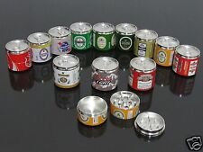 Beer Coke Cans Style 3 PART Alloy Muller Herb Spice Tobacco Grinder Crusher #743