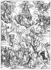 The Beast with 7 Heads and the Beast with Lamb's Horns by Albrecht Dürer Print