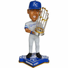 Kansas City Royals Salvador Perez 2015 World Series Trophy Bobblehead NEW IN BOX