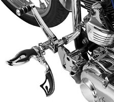 Harley FXCWC Rocker C 2008-2011Flamin' Switchblade Footpegs Male Mount Kuryakyn