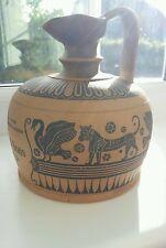 Royal Doulton Lambeth Siliconware John Dewar stoneware whiskey flask / jug