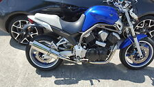 Yamaha BT1100 Bulldog 2001 - 2007 Stainless Oval ROAD LEGAL MTC Exhausts