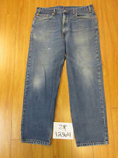 Used 550 relaxed fit levi's jean tag 38x34 meas 36x33 zip12363