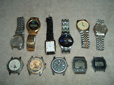 Lot of Mens Watches Xonix, Wenger Marlboro, Casio, Seiko, Pierre Cardin