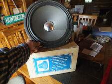 "Vintage 15"" Realistic Musical Instrument Speaker 100 Watt RMS 8 Ohms 40-1315A"