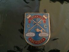 insigne badge broche sport curling ice donalds aberdeen email
