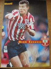 1970's-90's Autographed Magazine Picture: Southampton - Shearer, Alan [Home Kit]