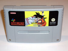 DRAGON BALL Z RPG SUPER SAIYA DENSETSU - PAL IN ENGLISH SUPER NINTENDO SNES CHOU