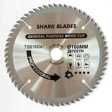 TCT Circular saw Blade 160mm 36 Teeth SHARK BLADES