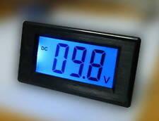 DC 0-200V Blue Large LCD Battery Indicator Monitor Voltage Volt Meter Updated