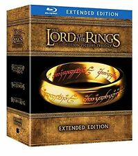 The Lord of the Rings 3 Movies Extended Edition 15 Disks Blu Ray Box Set New