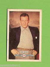 #D160. 1958-64  ATLANTIC PETROLEUM FILM STARS CARD #2  JOHN WAYNE
