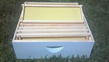 Medium Honey Super/ Illinois Honey Super-Assembled/Painted for Bee Hive