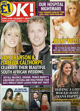 OK, FIRST FOR CELEBRITY NEWS, MARCH, 19th 2013 ISSUE,870( OUR HOSPITAL NIGHTMARE