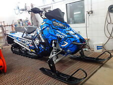 4POLARIS AXYS WRAP KIT SKS decal GRAPHICS 800 600 PRO RMK ASSAULT 155 163 BLUE