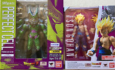New Bandai S.H Figuarts Dragonball Z Perfect Cell Premium Color And SS Son Gohan