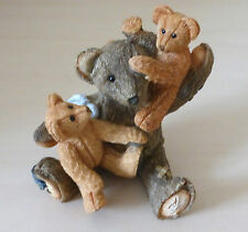 Bear playing with Babies figurine by Sherratt and Simpson 57133
