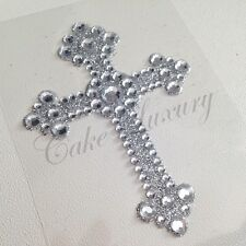 Cross Religious Stickers Glitter Bling Rhinestone Self Adhesive Stickers