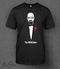 Breaking Bad T-Shirt The Methfather Tee MEN'S Walter White The Godfather T-shirt