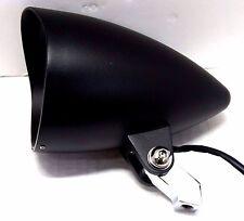 """Black 4-1/2"""" Bullet Headlight Harley Sportster XL Dyna Softail Chopper Bobber"""