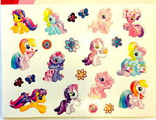 37 My Little Pony Stickers Party Favors Teacher Supply ( 2 Sheets)