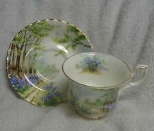 Royal Albert Bluebell Wood Country Scenes Cup and Saucer
