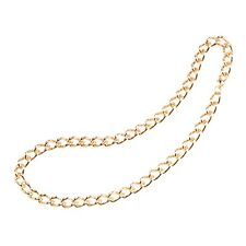 "24"" Gold Chunky Pimp Chain - Fancy Dress Fake Gangster 1970s Rapper"