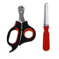 Stainless Steel Nail Clipper File Claw Cutter Set for Pet Dog Puppy Cat