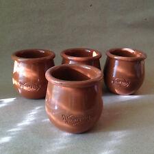 Pequeño menorquina cerámica cazuelas x4. originario de islas Canarias's iceream Makers