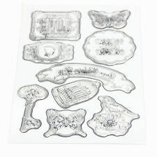 Silicone Rubber Clear Stamp Seal Scrapbooking Diary Xma Card DIY Craft Bird CAGE