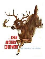 1962 Bear Archery Equipment Catalog  - Reproduction
