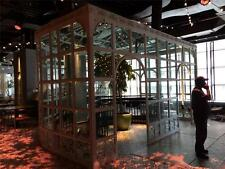 INCREDIBLE CUSTOM BUILT INDOOR OR OUTDOOR IRON GREENHOUSES- CONSERVATORY - NY1