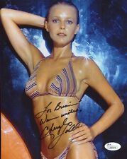 CHERYL LADD HAND SIGNED 8x10 PHOTO       JSA AUTHENTIC      SEXY BODY   TO BRIAN