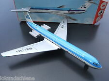 KLM Blech Flugzeug DDR / GDR 62-741  Royal Dutch Airlines Länge ca. 35 cm