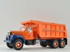 First Gear TOLLWAY & TUNNEL AUTHORITY 1960 MACK Die Cast Dump Truck Model B-61